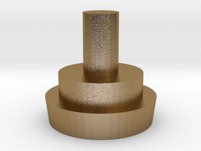 engine_rim in Polished Gold Steel