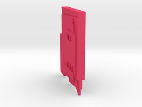 starboard_panel_1 in Pink Processed Versatile Plastic