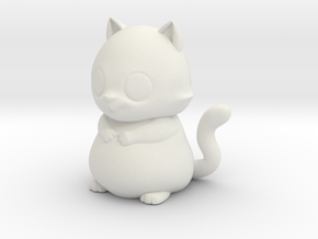 scotty the cat  in White Natural Versatile Plastic