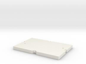 LTM1500 Mat in White Natural Versatile Plastic