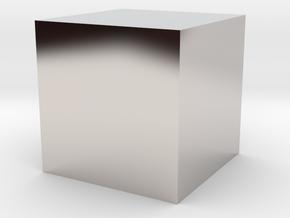 1 cc / 1 cm3 (no markup) in Platinum