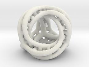 Tetra Mobius -0,030 in White Natural Versatile Plastic