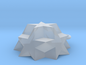 Dodecadodecahedron Charm in Smooth Fine Detail Plastic