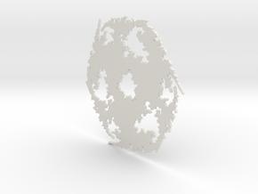 Julia Sharp Web 1 in White Natural Versatile Plastic