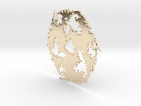 Julia Sharp Web 2 in 14k Gold Plated Brass