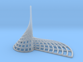 Archimedean Spire in Smooth Fine Detail Plastic