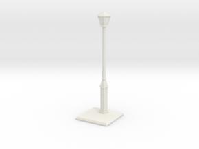 Old lightpost in White Natural Versatile Plastic