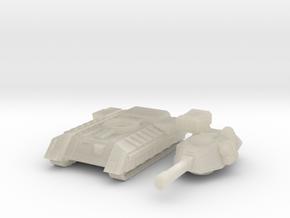 Terran Main Battle Tank in White Acrylic