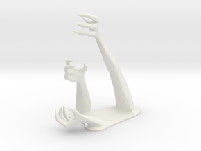 Demon Hand Pen Holder -v1 in White Strong & Flexible