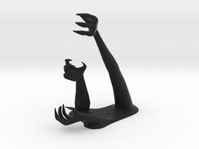 Demon Hand Pen Holder -v1 in Black Strong & Flexible