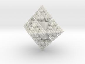 Octa Cubes in White Natural Versatile Plastic