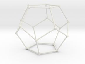 Dodeca in White Natural Versatile Plastic