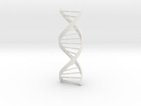 DNA in White Natural Versatile Plastic