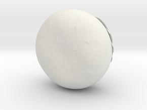 CheeseWheel box thin in White Natural Versatile Plastic