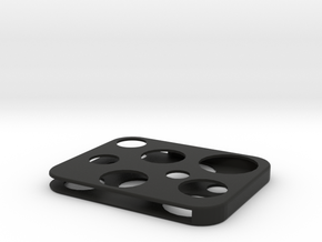 Flash Cover Swiss Cheese in Black Strong & Flexible