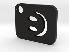 Flash Cover Smiley in Black Strong & Flexible