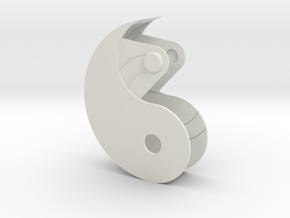 Yin Yang Box Small in White Strong & Flexible