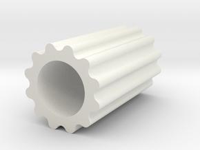 JDH-clutch_a.stl in White Natural Versatile Plastic