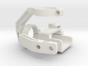 Mobius Gimbal - Roll and Pitch Assembly in White Strong & Flexible