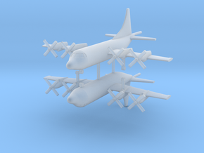 1/700 P-3 (AP-3C) Orion (x2) in Smooth Fine Detail Plastic