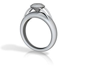 fused diamond 5 in White Natural Versatile Plastic