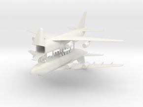 1/700 Antonov AN-124 Ruslan (x2) in White Strong & Flexible