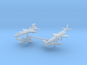 1/700 Experimental Aircraft Set 1 in Smooth Fine Detail Plastic