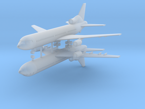 1/700 Lockheed L-1011-500 TriStar (x2) in Frosted Ultra Detail