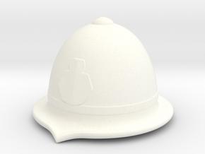 Bobby Helmet in White Processed Versatile Plastic