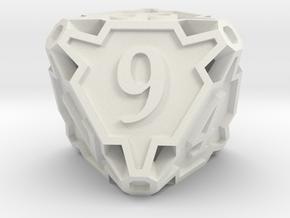 Premier d8 in White Natural Versatile Plastic