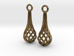 Eardrops Ib in Natural Bronze