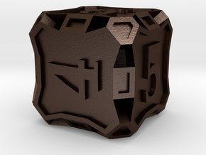 Die6 in Matte Bronze Steel