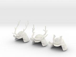 KABUTO ANTLERS in White Strong & Flexible