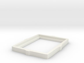 Picture Frame in White Natural Versatile Plastic