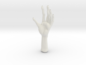 Another monster hand test in White Natural Versatile Plastic