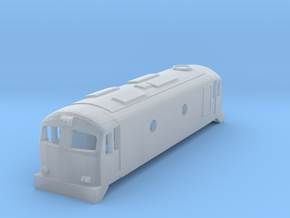 CIE Class C201 N scale in Smooth Fine Detail Plastic