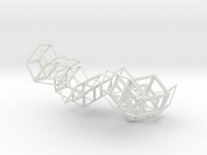 Triakon in White Natural Versatile Plastic