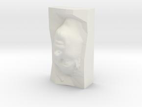 Thom Yorke STL in White Natural Versatile Plastic