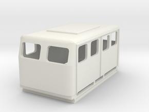 OeBB Schmalspur Draisine 1/100 in White Natural Versatile Plastic