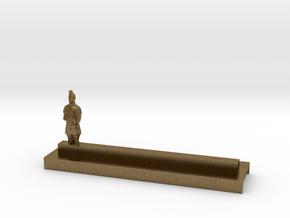 Porte Couteau Soldat 1 Xian in Natural Bronze