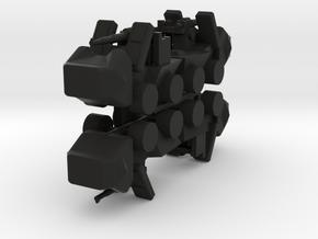 8 Self Propelled Artillery x4 in Black Strong & Flexible