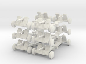 8 Field Artillery x12 in White Natural Versatile Plastic
