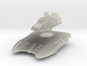 T-667 Hover Tank in Transparent Acrylic
