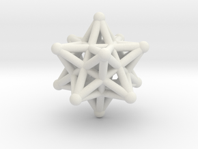 ball-and-stick star in White Natural Versatile Plastic