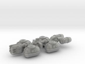 Fuel Tanker in Metallic Plastic