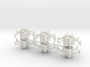 Gothic Shrine x6 in White Natural Versatile Plastic