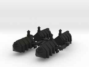 Gothic Transport x4 in Black Strong & Flexible
