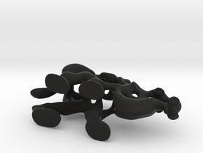 Cartoon Camel in Black Strong & Flexible