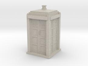 Tardis mini in Sandstone