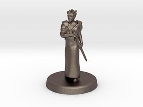 Fugue (Genasi swordmage) in Stainless Steel